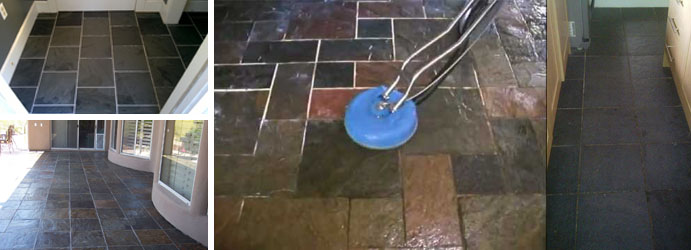 Slate Tile and Grout Cleaning Wandana Heights