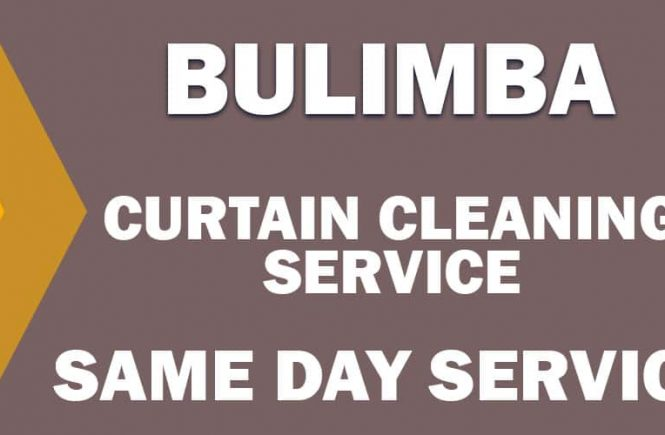 CURTAIN CLEANING BULIMBA