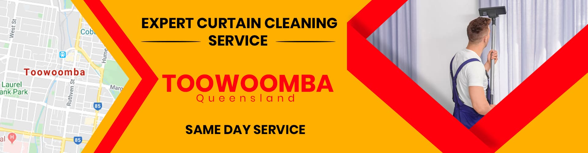 Curtain Cleaning Toowoomba