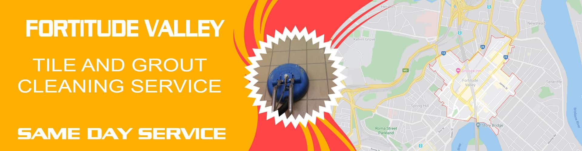 tile grout cleaning fortitude valley