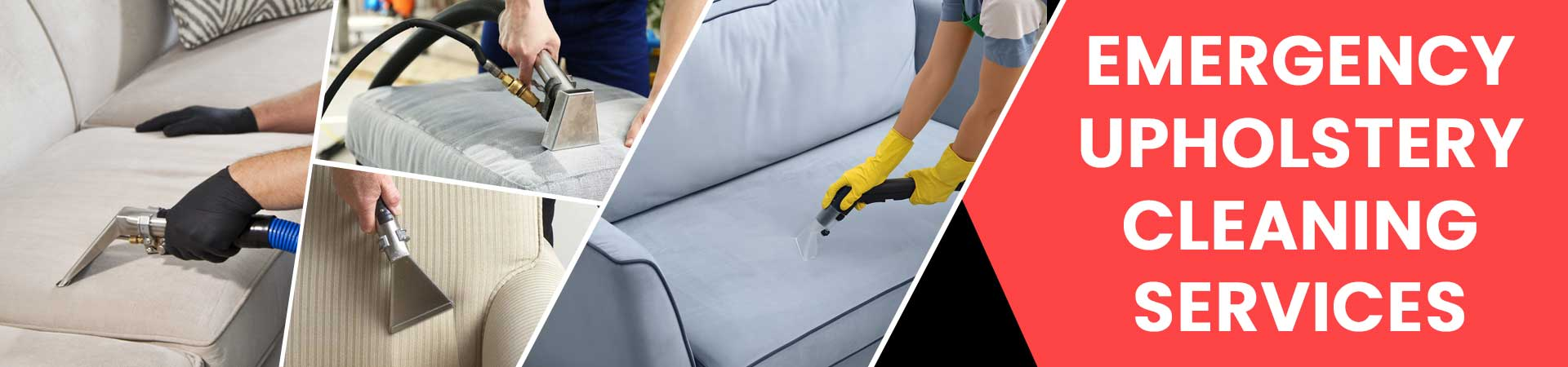Emergency Upholstery Cleaning