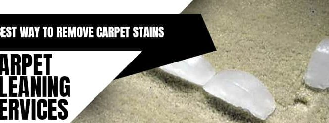 Best Way To Remove Carpet Stains