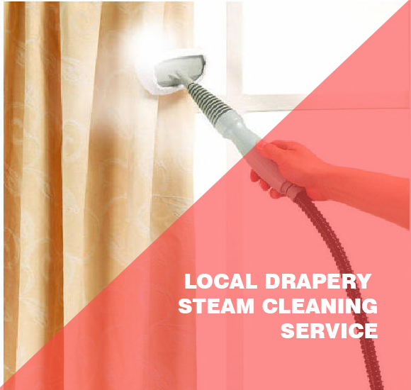 Local Drapery Steam Cleaning