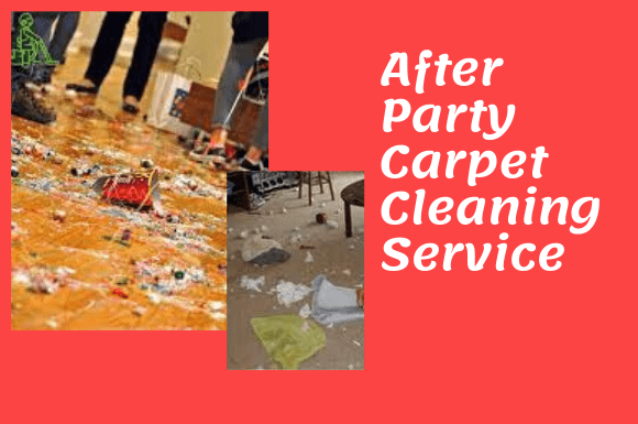 After Party Carpet Cleaning Service