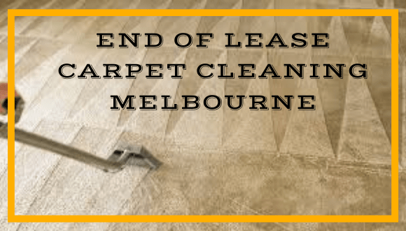 End of Lease Carpet Cleaning Harcourt