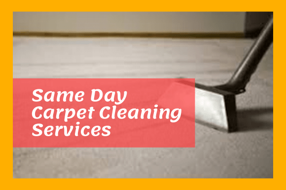 Same Day Carpet Cleaning Services In Soldiers Hill