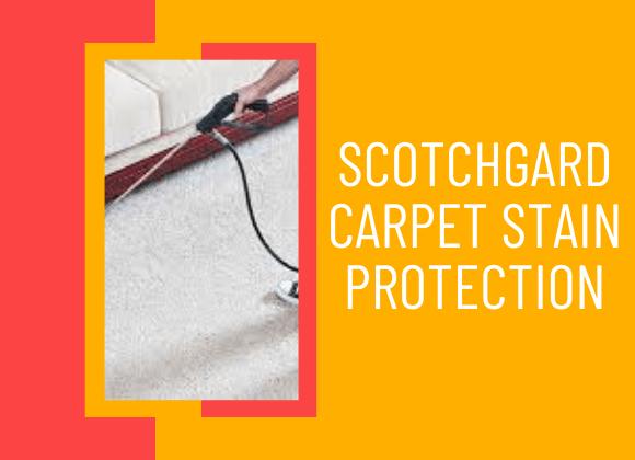 Scotchgard Carpet Stain Protection Perth